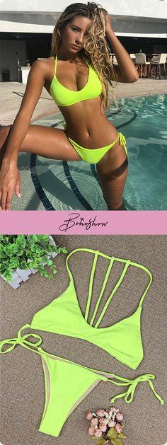 9cb24c5ecc11 Costume Da Bagno Bikini, Set Di Bikini, Bikini Sexy, Ragazze Con Bikini,