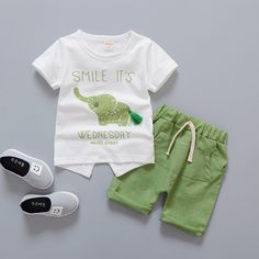 Baby Boy Summer Infant Short Sleeved  Price: 10.00 & FREE Shipping  #babyboy Baby Boy Clothing Sets, Boys And Girls Clothes, Kids Clothing Brands, Infant Clothing, Children Clothing, Girl Clothing, Baby Girl Fall Outfits, Winter Outfits For Girls, Toddler Boy Outfits