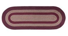 Amazon.com: Miles Kimball Oval Braided Rug: Furniture & Decor