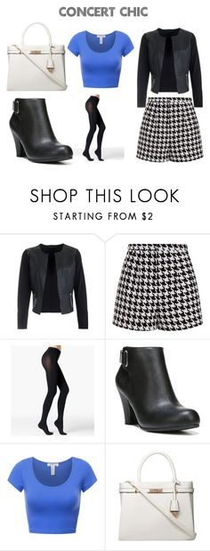 """""""Concert Outfit"""" by jsd13711 on Polyvore featuring Emma Cook, Fogal, Fergalicious and Dorothy Perkins"""