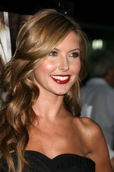 Audrina from the Hills, her makeup compliments her hair and eye color perfect! I love all of it!