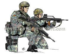 Tenue Forces Spéciales Bundeswehr