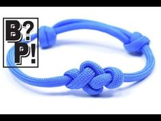 """How You Can Make A Double Coin Knot Twisted Paracord Bracelet - YouTube"