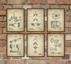 Optometry Patent Print Set Of 6 - Optometrist Patent - Optician Wall Art Design - Eye Test - Spectacles - Optometry - Ophthalmologist  This Ophthalmology set contains the following patents... Optometrists Trial Frame 1904 Eye Testing Device 1930 Eyeglasses 1908 Optical Test Chart 1928 Bifocal Fitting Device 1930 Contact Lens 1938  Each is printed using high quality archival inks on heavy-weight archival paper with a smooth matte finish. A fantastic gift or a fabulous addition to your home…
