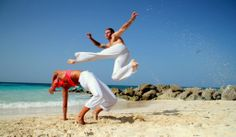 Capoeira Dancers - Brazilian Martial Arts