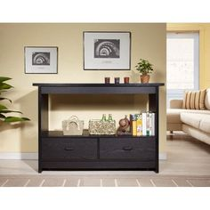 Hokku Designs Adam  Console Table Front roomfrom walmart