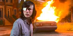 """Sunday's """"The Walking Dead"""" ended with a big departure from the comics, but it also left a lot of other story lines wide open for when the show returns in Walking Dead Cake, Walking Dead Tv Show, Fear The Walking Dead, Walker Twd, Chandler Riggs, Dead Ends, Season Premiere, Carl Grimes, Season 8"""