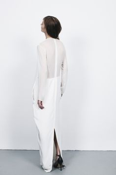 Devon-born and London-based fashion designer Charlie May (of the blog Girl a la Mode fame) launched her Autumn/Winter '13 collection in the beginning of the year, giving continuity to her signature minimalist, androgynous style.