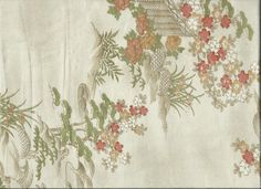 "Silk Kimono ""Garden""  http://www.kesarankimonofabric.com/"