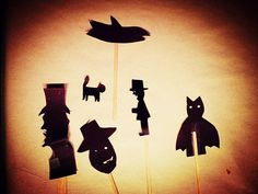 Once Upon A Time by Zinvolle - Everybody is a story teller, what is your story for these silhouettes? Your Story, Once Upon A Time, Silhouettes, Objects, Greeting Cards, Batman, Superhero, Wall Art, Silhouette