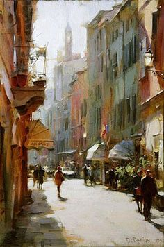 welcome to ⚡ we are here to support handicrafts and fineart. Paris Painting, City Painting, Landscape Art, Landscape Paintings, Watercolor Architecture, Art Society, Illustration Art, Illustrations, Environmental Art