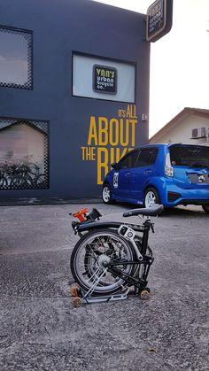 My very Brompton Brompton, Bicycle, Vans, Vehicles, Bicycle Kick, Bike, Trial Bike, Van, Bicycles