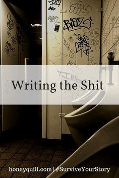 Incredible, transformative beauty is possible when you write the shit