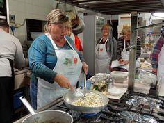 Laura cooking up a storm at Villa Campestri #AmorOlio #Tuscany
