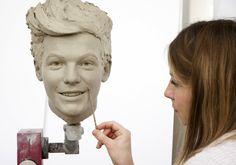 Madame Tussauds wax figure sneak peak of Louis Tomlinson One Direction