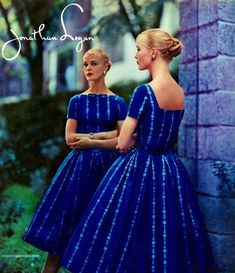 my vintage vogue (Jonathan Logan designed by Jeanne Carr) Fifties Fashion, Retro Fashion, Vintage Fashion, Fifties Style, Vintage Style, 1950s Outfits, Retro Outfits, Cute Outfits, All Fashion