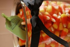 Halloween candy corn styled by Mon Tresor
