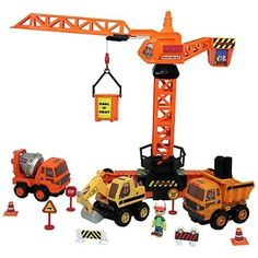 Amazon.com: Disney's Handy Manny Crane Set Sounds and Movement: Toys & Games