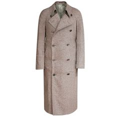 CORNELIANI $1,895 double breasted coat wool cashmere topcoat overcoat 50 9L NEW  #Corneliani #BasicCoat