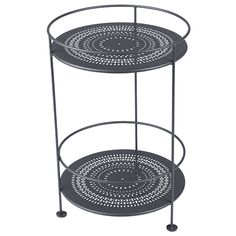 Gueridons table, anthracite