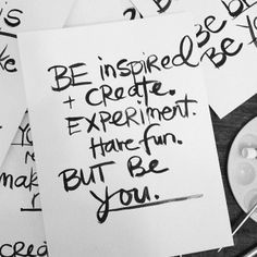 Be You. by PolkaDotCreative at @Studio_Calico www.polkadotcreative.com.au