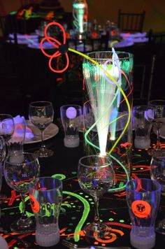 1000 images about glow party ideas on pinterest glow party glow sticks and blacklight party for 13th floor glow stick