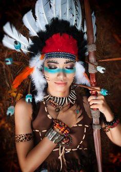 die 28 besten bilder von samba kost m halloween makeup costume makeup und fantasy makeup. Black Bedroom Furniture Sets. Home Design Ideas