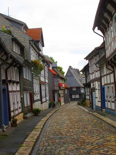 The historic Old Town of Goslar, Germany. The town, situated in the northwestern German state of Lower Saxony, is a UNESCO World Heritage Site (Andra SB on flickr)