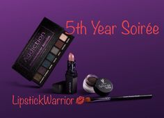 November Kudos 5th Year Soirée  LipstickWarrior Younique  https://www.youniqueproducts.com/LipstickWarrior/party/8071216/view?vh=1#.WfnvGmhOnYU