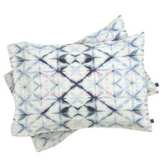 Buy Pillow Sham with Tangier Slate Blue designed by Amy Sia. One of many amazing home décor accessories items available at Deny Designs. Buy Pillows, Throw Pillows, Textiles, Tangier, Blue Design, Shibori, Home Decor Accessories, Pillow Shams, Slate