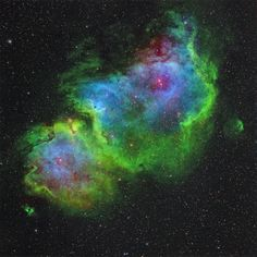 IC 1848-Soul Nebula!!! in an HST-palette...whatever that means