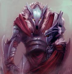 League of Legends: Marauders by ArtisticPhenom - Warwick + Ashe