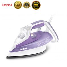 Tefal FV4860 Garment Steamer Fabric Powerful Steam Iron Clothes Laundry New #Tefal