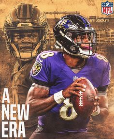 Personal Projects Early December 2019 on Behance Nfl Football Players, Nfl Playoffs, Football Art, College Football, Baltimore Ravens Players, Baltimore Orioles, Raven Pictures, Sports Graphic Design, Lamar Jackson