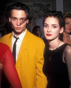 Johnny Depp and Winona Ryder                                                                                                                                                                                 More