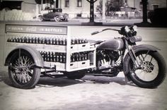 Harleys At Work: Coca-Cola Delivery Vehicle - HDForums