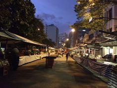 Feira Livre Santa Cecília - São Paulo, Brasil