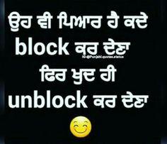 27 Best Blocked Images My Life Punjabi Quotes Sad Quotes