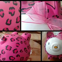 Alcancia hello kitty Piggybank Instagram @guardianesdetussueños Pedidos whatsapp 3147756646