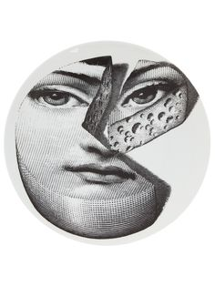 Fornasetti Printed China Plate - L'Eclaireur - farfetch.com  $160
