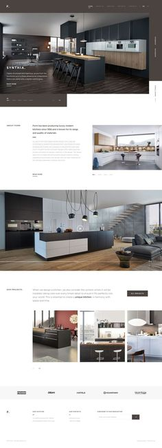 This is our daily Web app design inspiration article for our loyal readers. Every day we are showcasing a web app design whether live on app stores or only designed as concept. Real Estate Website Design, Site Web Design, Modern Website, Website Design Layout, Web Layout, Ux Design, Home Design, Layout Design, Website Designs