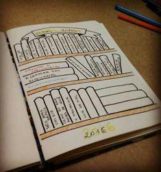 New Travel Diary Ideas Diy Bullet Journal 64 Ideas Bullet Journal School, Bullet Journal 2019, Bullet Journal Tracker, Bullet Journal Ideas Pages, Bullet Journal Inspiration, Journal Pages, Books To Read Bullet Journal, Planners, Creative Journal