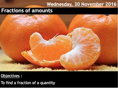 ProjectALesson: Fractions of Amounts for KS2, KS3 & KS4