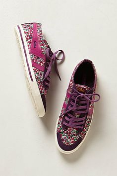 Gola floral sneakers #anthropologie