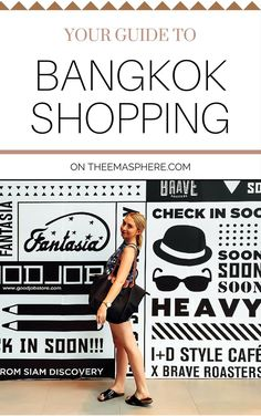 Everything you need to know about shopping in Bangkok on http://www.theemasphere.com! #bangkokshopping #thailand #theemasphere
