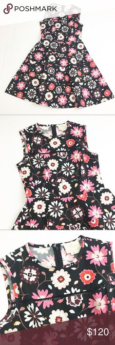 Kate Spade Fit and Flare Floral Print Dress Kate Spade Fit and Flare Floral Print Dress in size 6. Excellent - like new - condition. Approximate measurements: length: 38 inches; bust: 17 inches. Adorable and timeless. Please let me know if you have any questions or need more pictures! kate spade Dresses
