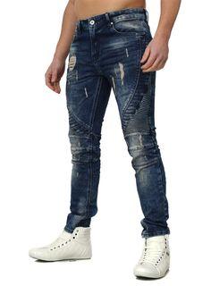 VSCT destroyed Jeans Sampdoria blue