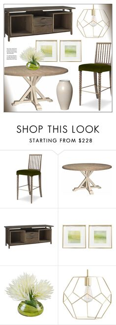 """""""Dining Room"""" by kathykuohome ❤ liked on Polyvore featuring interior, interiors, interior design, home, home decor, interior decorating, dining room, diningroom, Home and diningdecor"""