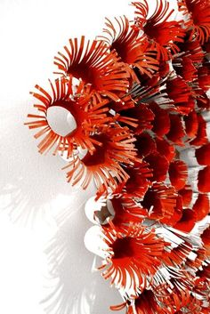 another anemone - Weihnachtsdeko Draußen Under The Sea Theme, Under The Sea Party, Under The Sea Decorations, Libros Pop-up, Sea Crafts, Ocean Themes, Toilet Paper Roll, Kirigami, Recycled Crafts