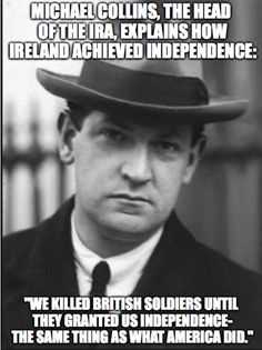 Michael Collins was the last President of the Irish Republican Brotherhood… Michael Collins, Irish Republican Brotherhood, Irish Republican Army, Ireland 1916, Ireland Map, Irish Independence, Irish People, Irish Pride, Irish American